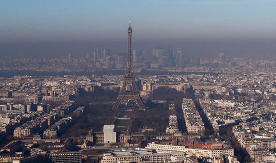 thủ đô paris hứng chịu ô nhiễm môi trường
