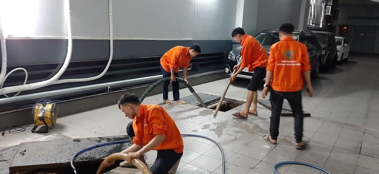 Thông tắc đường ống thoát khí chuyên nghiệp