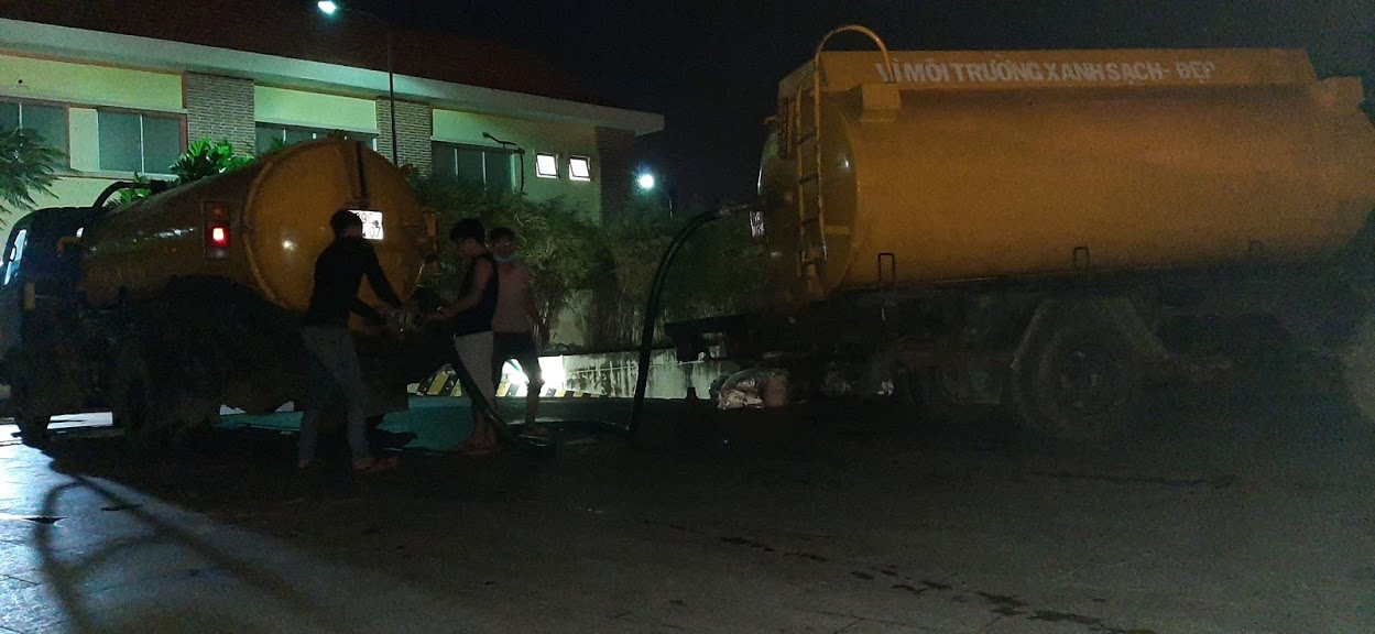 Quy trình hút hầm cầu quận Phú Nhuận