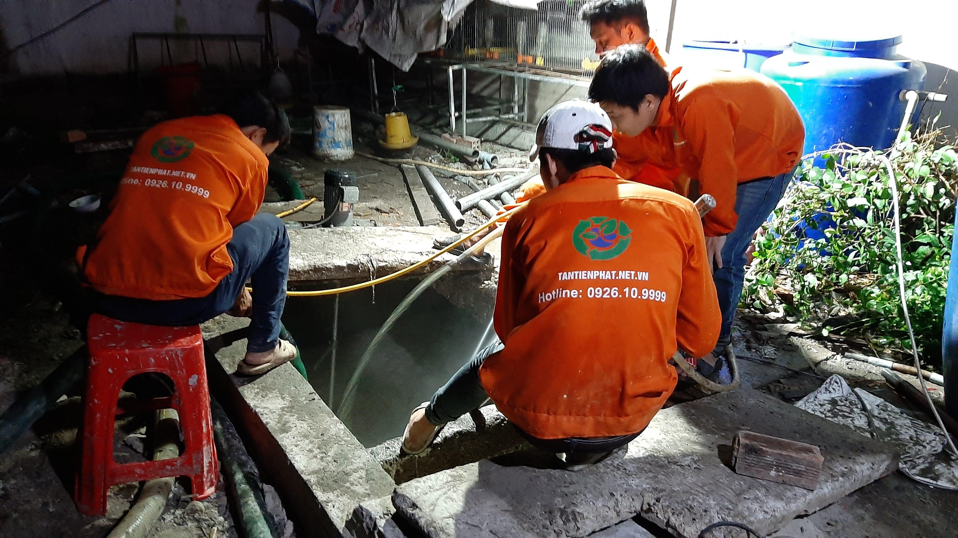 Nhật Quang - đơn vị hút hầm cầu uy tín, chuyên nghiệp và đáng tin cậy