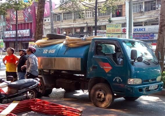 Các loại xe hút hầm cầu thông dụng hiện nay