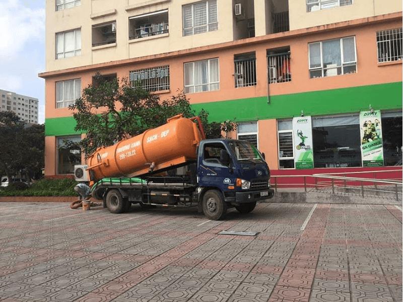 Hút hầm cầu huyện Mang Thít giá rẻ