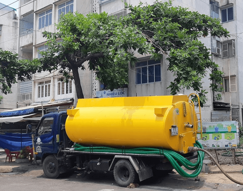 Nhật Quang hút hầm cầu uy tín, chất lượng tại huyện Tân Hồng