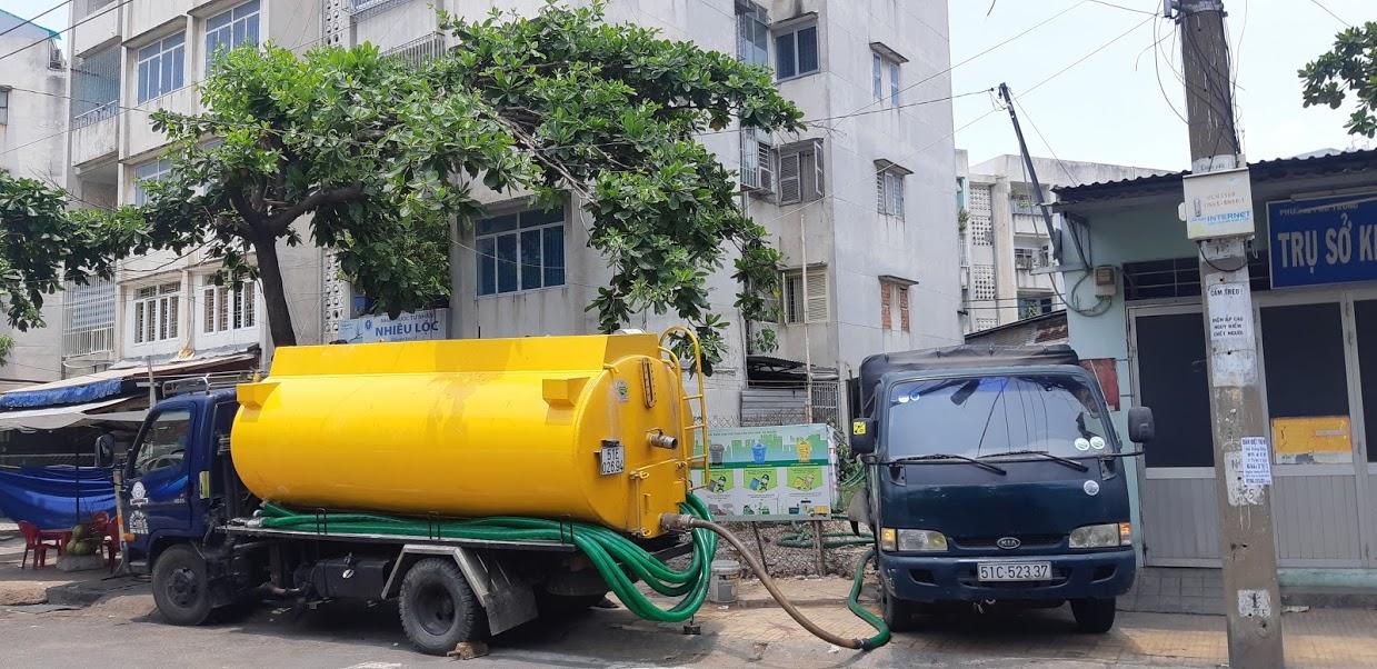 Công ty Nhật Quang - đơn vị hút hầm cầu uy tín