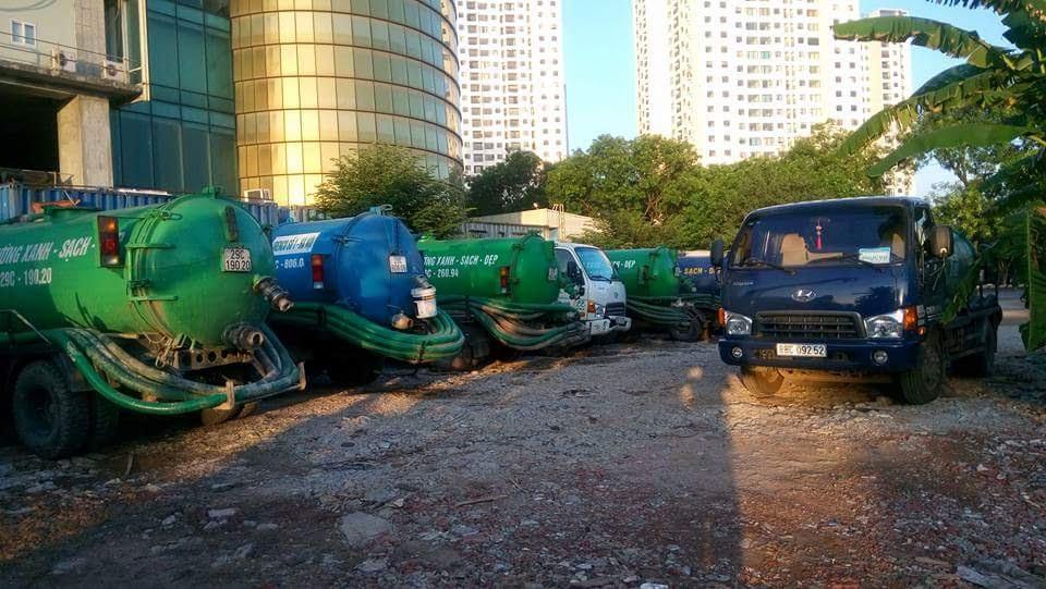 Dịch vụ hút bể phốt huyện Yên Phong của công ty Nhật Quang uy tín, chất lượng