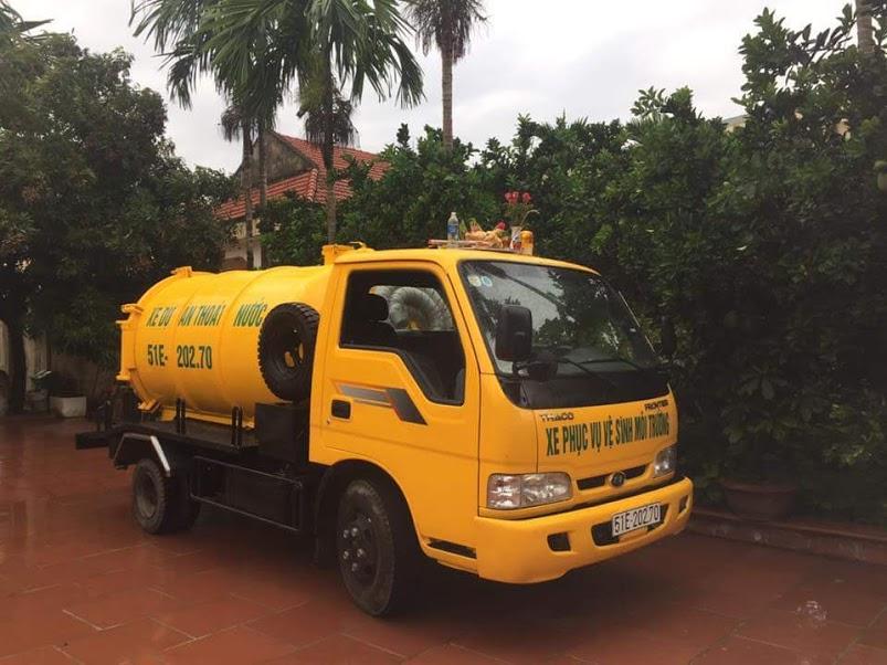 Công ty vệ sinh môi trường Nhật Quang